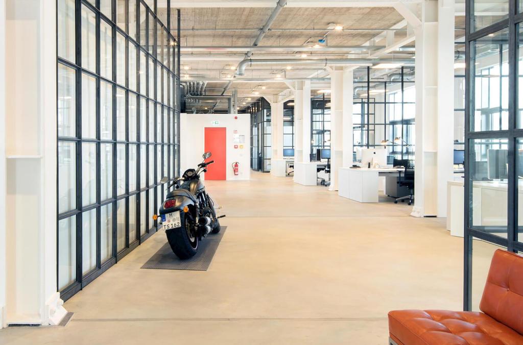 Sassenbach Advertising Büro Loft Harley-Davidson