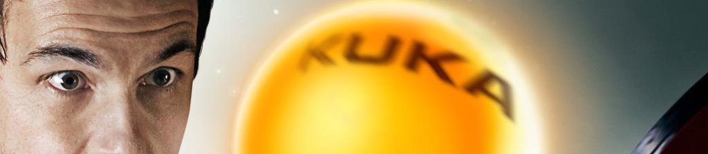 KUKA Timo Boll Tischtennisball (Closeup)