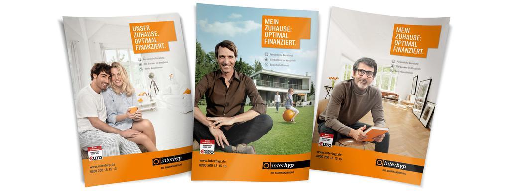 Werbekunde Interhyp 3 Print Anzeigen