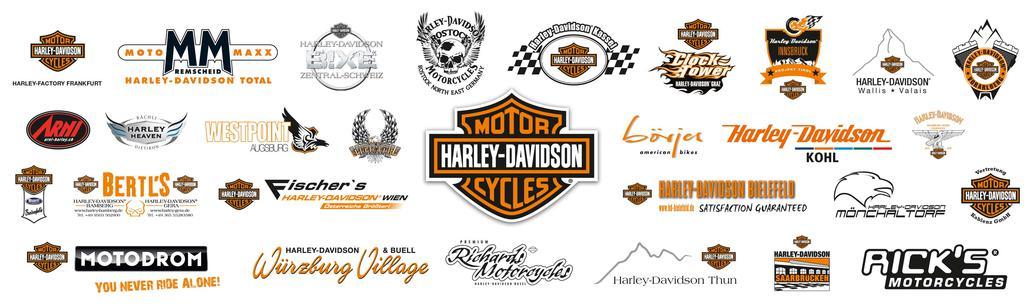 Harley-Davidson Händler Logos