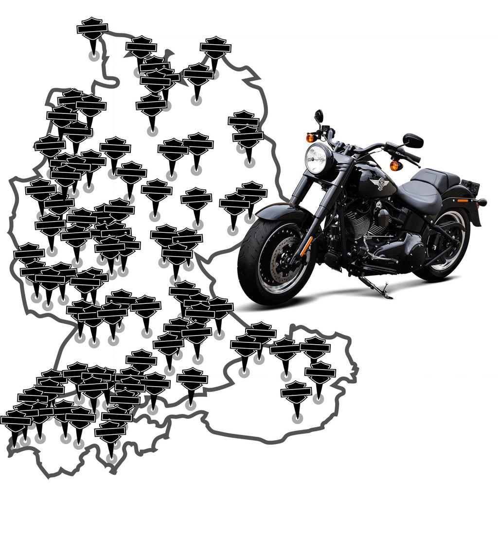 Harley Davidson Händler Deutschland, Österreich, Schweiz