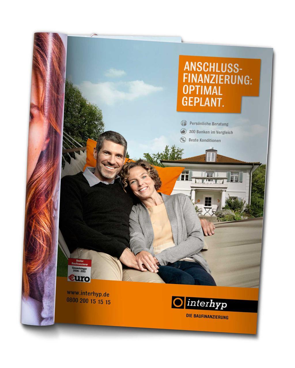 Werbekunde Interhyp Print Anzeige