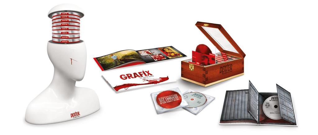 Werbekunde Paramount Packaging Dexter Collectors Box, PoS