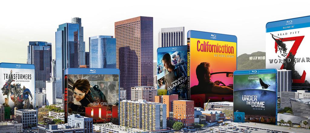 Werbekunde Paramount Packaging Blueray Skyline