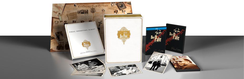 Werbekunde Paramount Packaging Der Pate Collectors Box