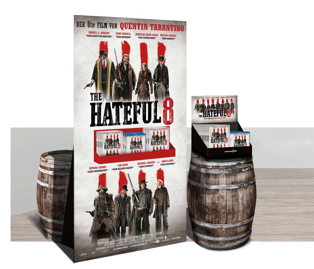 Hateful8 POS Aufsteller, Universum Film