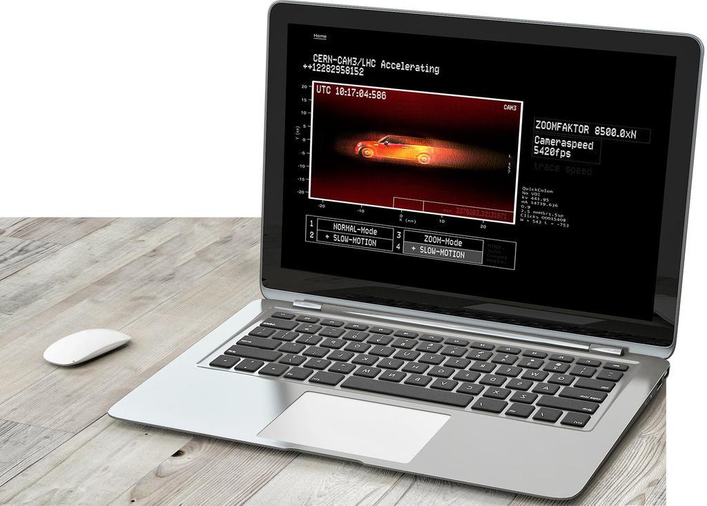 Werbekunde MINI Kreative Highlight Webcam Teilchenbeschleuniger